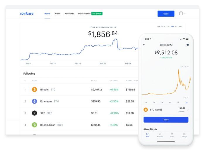 coinbase view